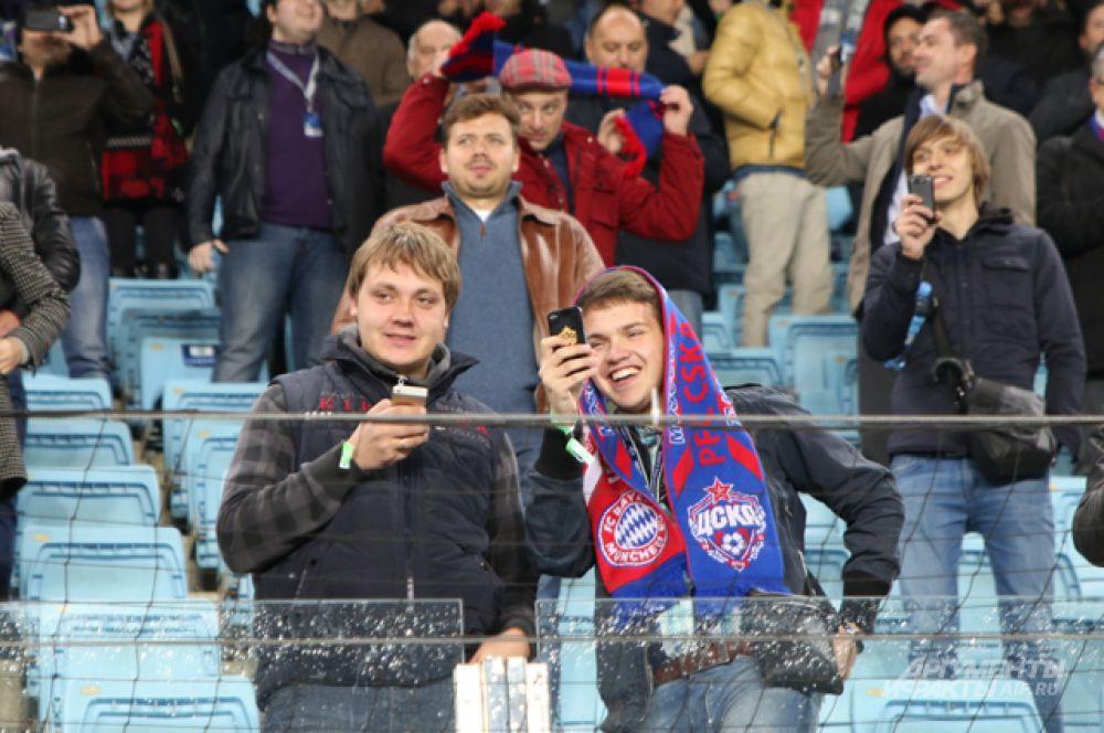 «Бавария» впервые в своей истории играла при пустых трибунах в еврокубках, а вот для поклонников ЦСКА это становится уже привычкой.