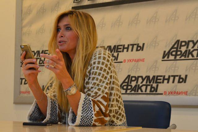 Вера Брежнева в гостях у АиФ.ua