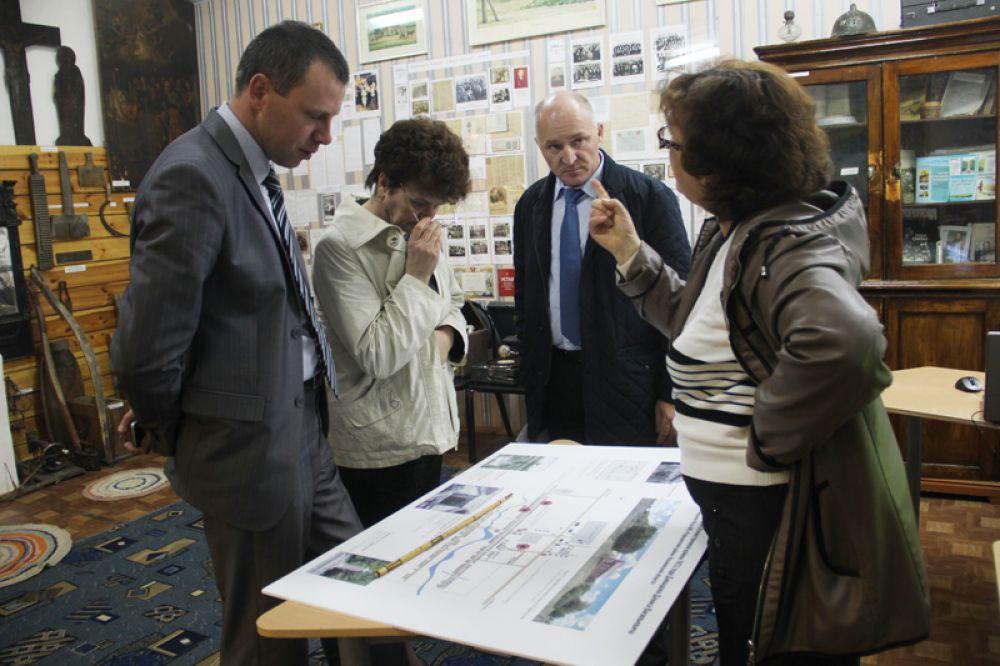 Проект обсуждают краеведы и чиновники