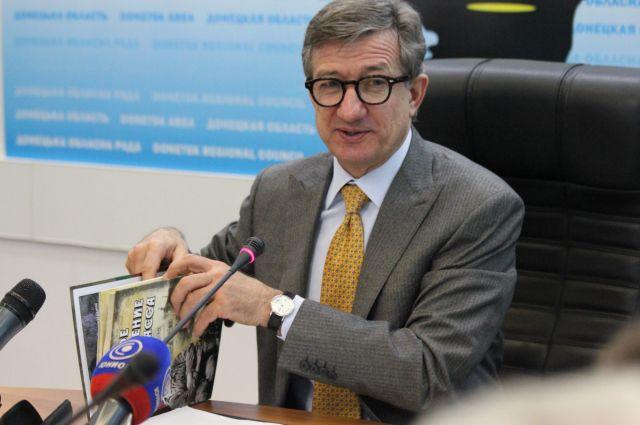 Сергей Тарута, председатель Донецкой ОГА
