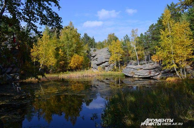 Озеро Моховое в Курьинском районе.