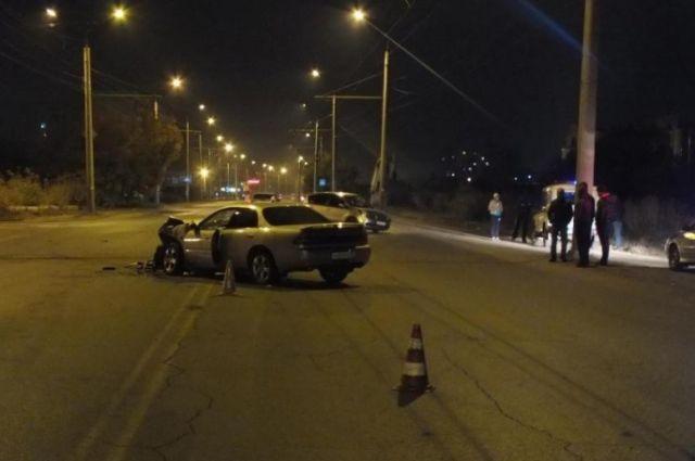 Авария в Омске.