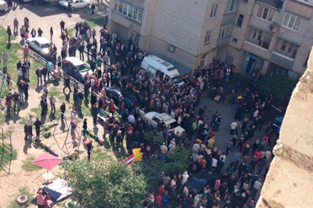Жители Минвод прощаются с погибшим в драке