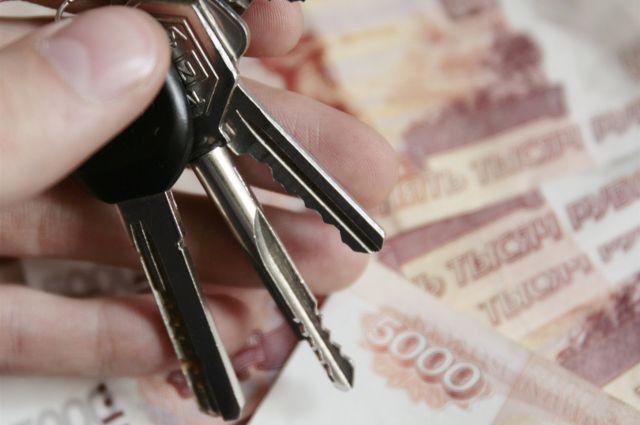Ключи от автомобилей вручили трем многодетным семьям.