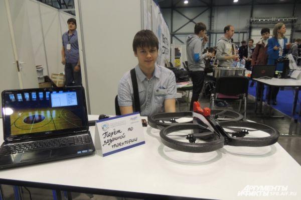 На фестивале мехатроники изобретения представили молодые ученые.