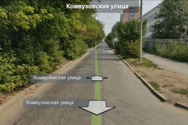 В Екатеринбурге движение по ул. Комвузовской закрыли до конца ноября