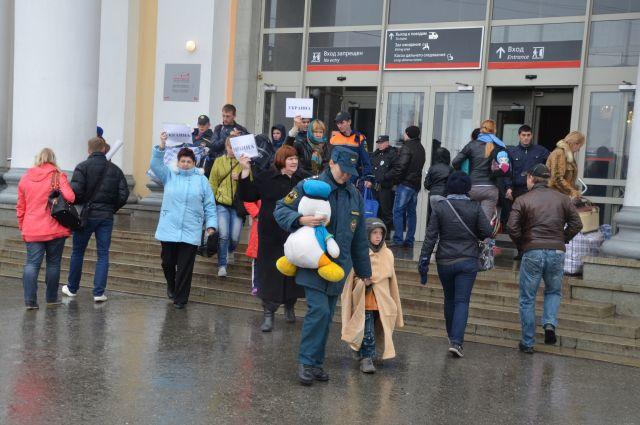 Граждане Украины продолжают прибывать на Средний Урал