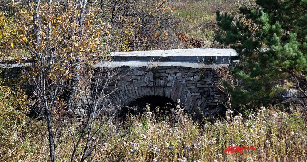 Мост на старинном Сибирском тракте