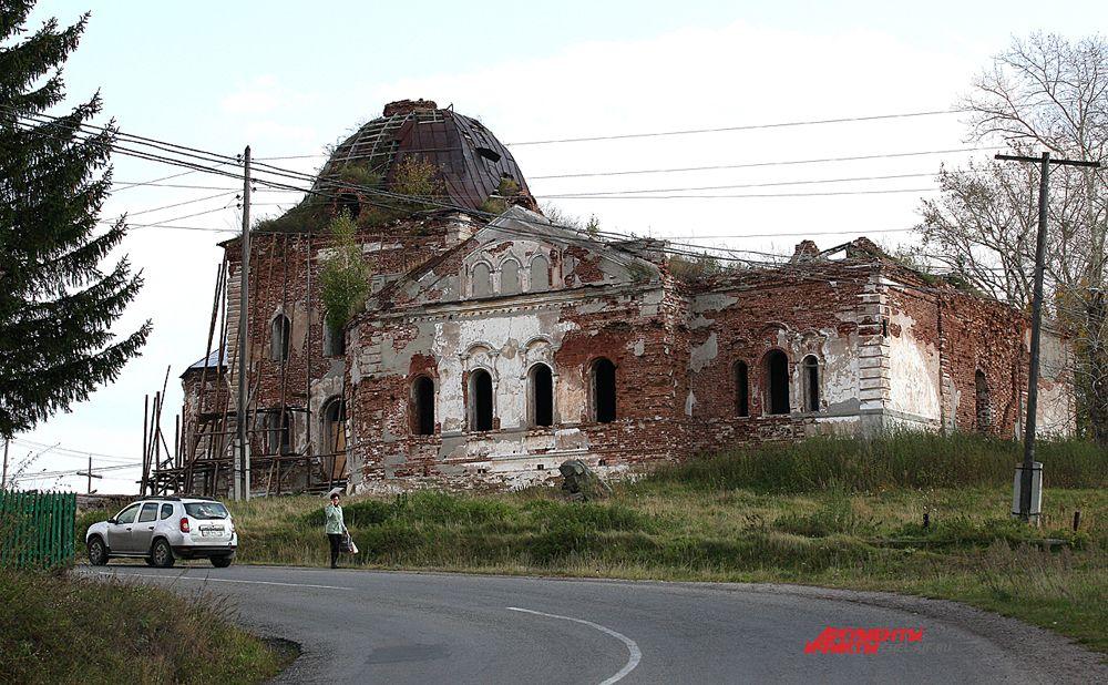 Храм Воскресения Христова, начало строительства в 1819г.,освящён в 1832г.