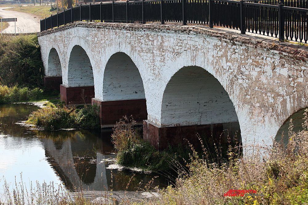 """""""Белый мост"""" строили местные крестьяне с 1901 по 1903 г.г."""