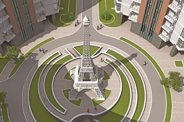Проект Эйфелевой башни в Киеве
