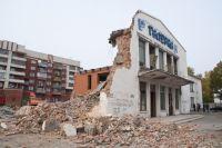 Здание «Галерки» почти полностью разобрали в ходе реконструкции.