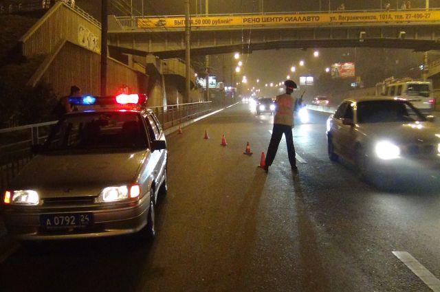 Ночью ГИБДД проверит на трезвость всех новосибирских водителей