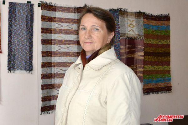 Ольга Доронина из Великого Новгорода – частый участник Московской  ярмарки народных промыслов.