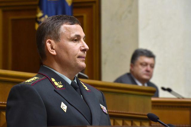 Генерал-полковник Валерий Гелетей.