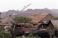 Вид на шахты Донбасса