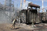 Боевики обстреляли Луганскую ТЭС в г. Счастье