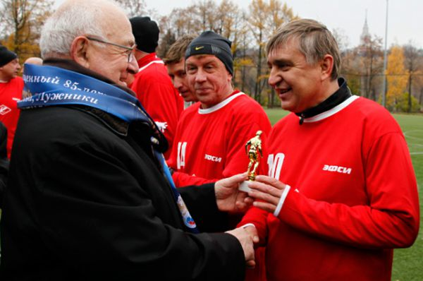 В последние годы Черенков активно участвовал в жизни команды, посещал все ее официальные мероприятия и матчи.