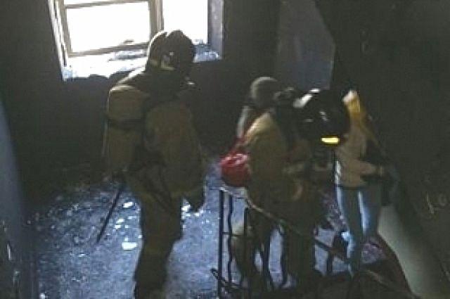 Пожар в общежитии укрощён.