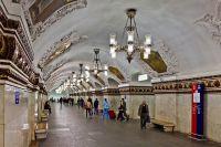 Cтанция «Киевская» (Арбатско-Покровская линия).