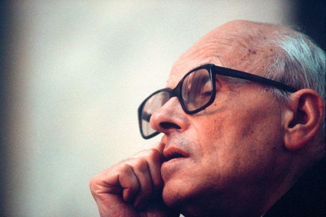 Андрей Сахаров. 1989 год.