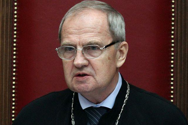 Валерий Зорькин, председатель Конституционного суда.