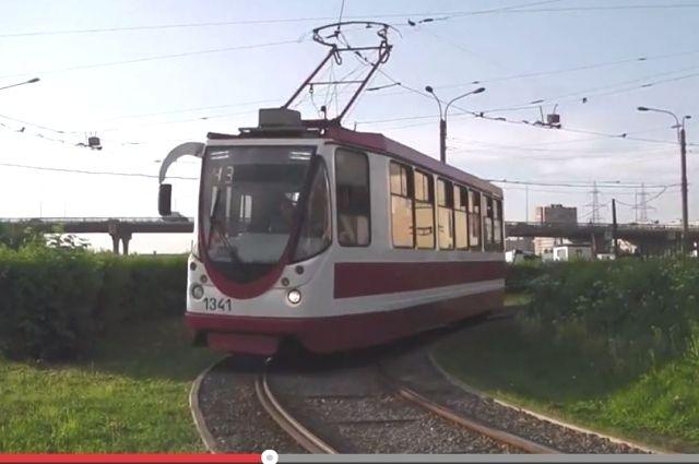 Трамвай ЛМ-99.