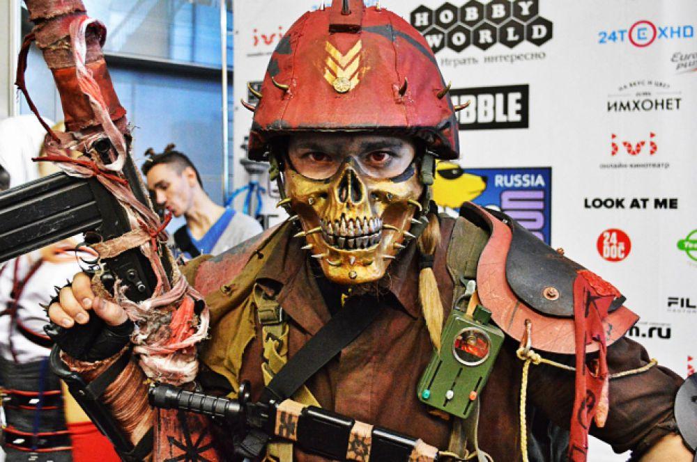 Персонаж из видеоигр вселенной Warhammer 40,000.