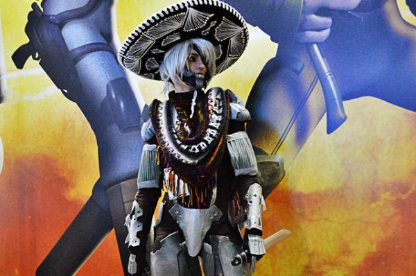 Джек Райден из видеоигры Metal Gear Rising.