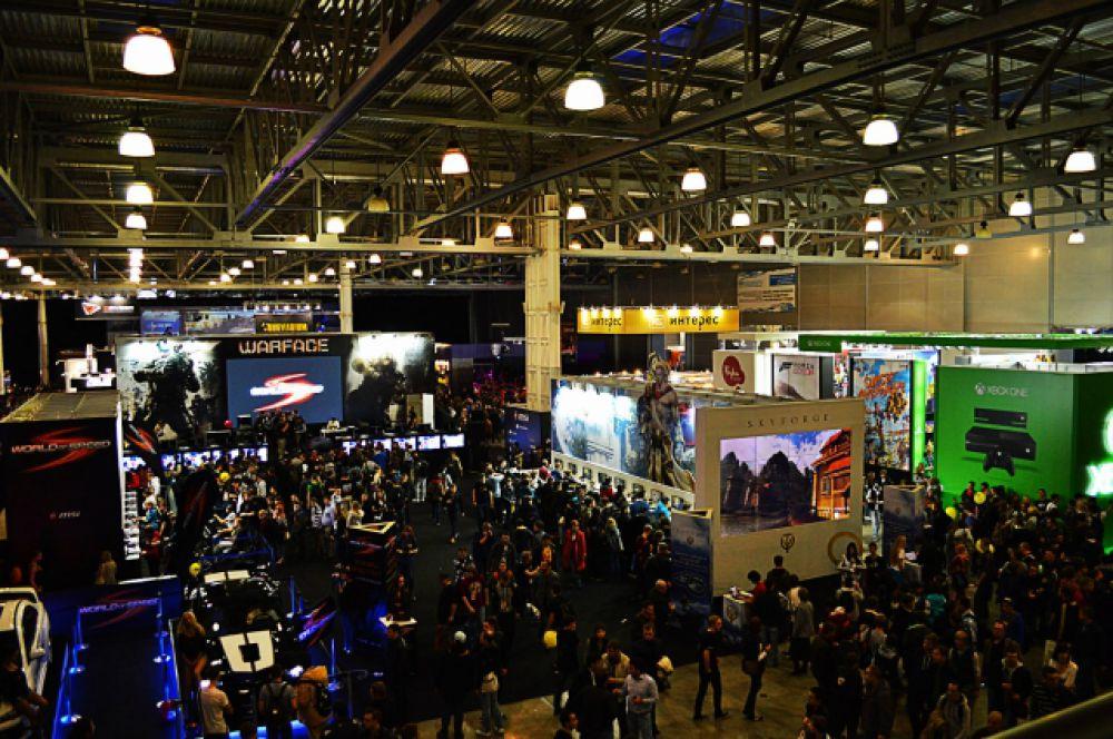 «ИгроМир 2014» занял в Крокус Экспо четыре павильона.