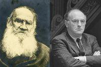 Лев Толстой и Иосиф Бродский.