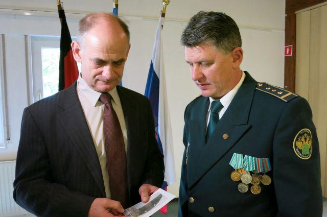 Валерий Александров и Вольфган Штроек.