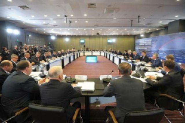 Заседание Госсовета в Новосибирске.