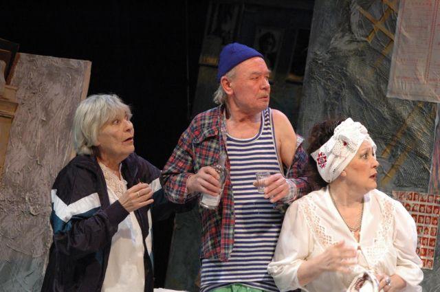 12 октября театр драмы представит спектакль «Божьи одуванчики»