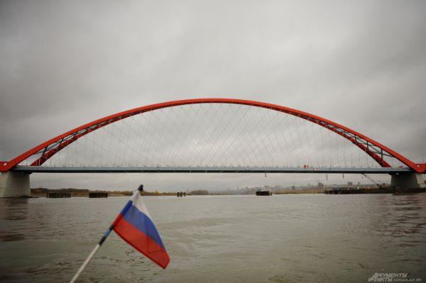 Бугринский мост в Новосибирске.