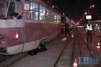 Трамвай насмерть переехал мужчину