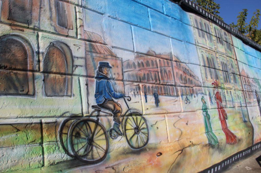 Картины из жизни уездного города 19 века.