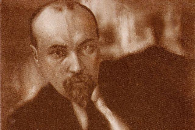 Портрет Николая Рериха. Работа Мирона Шерлинга. 1916 год.