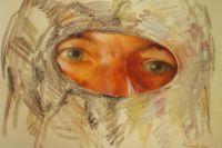 Репродукция картины Игоря Башмакова «Глаза снайпера».