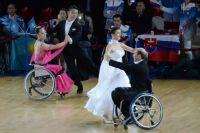 Участники турнира по спортивным танцам на колясках «Кубок континентов».