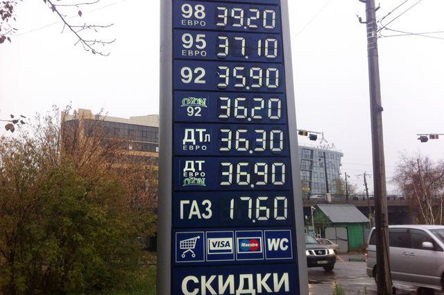 В последние месяцы цены на бензин менялись еженедельно.