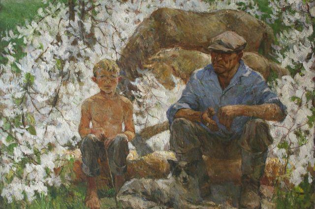 Картина Владимира Бичевого.