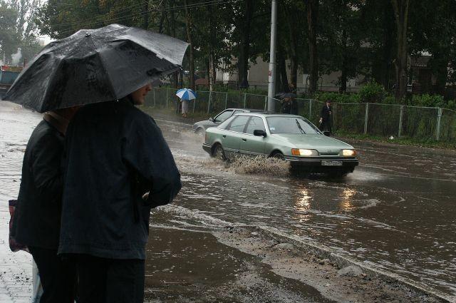 В выходные на Среднем Урале будет сыро и местами снежно
