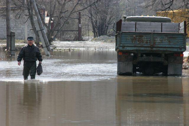 Ливни на ближайших выходных могут спровоцировать наводнение на Южном Урале