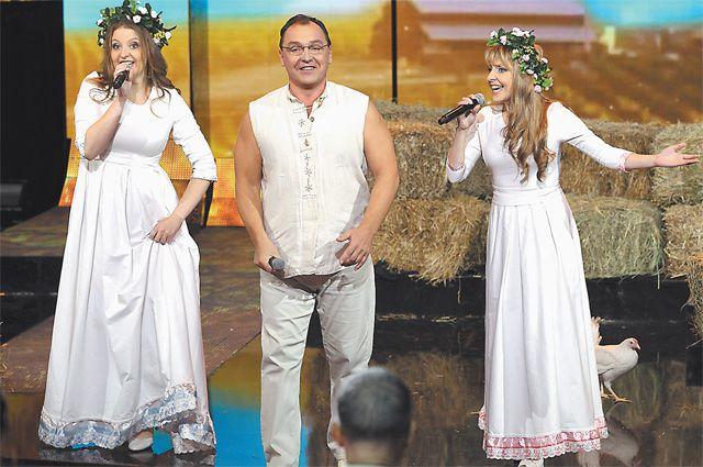 Команда Филипповых приехала из Белоруссии.