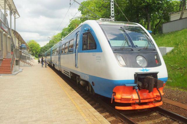 Рельсобус ежедневно перевозит до 400 пассажиров.