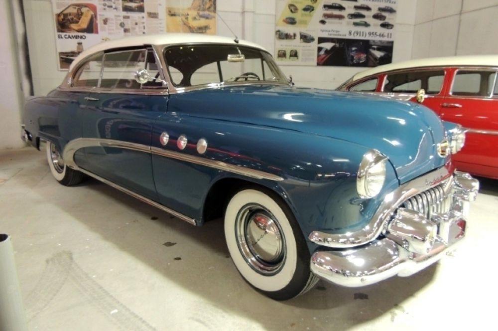 Все автомобили на выставке очень редкие.