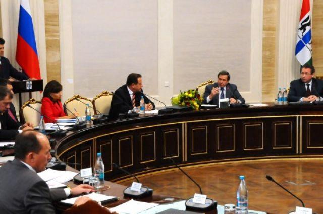 Заседание Правительства НСО 10 октября.