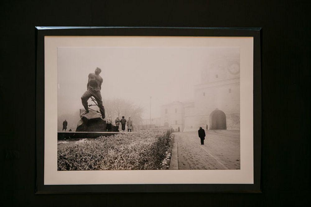 Памятник Мусе Джалилю, установленный в 1966 году в Казани