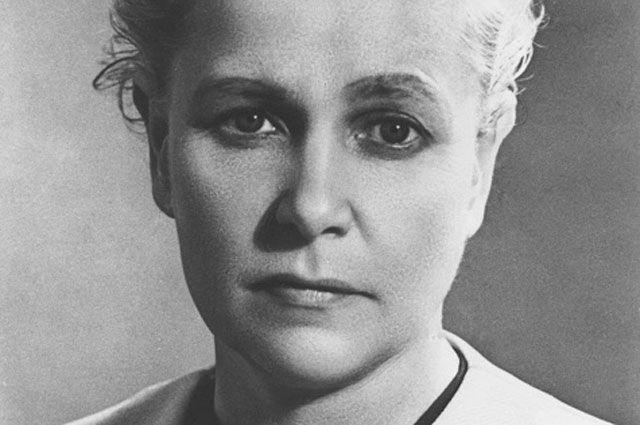 Министр культуры СССР Екатерина Алексеевна Фурцева.